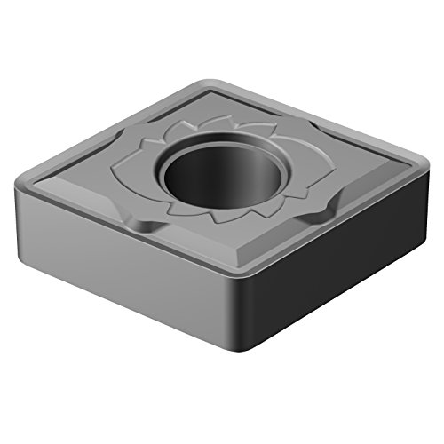 Sandvik Coromant, CNMG 643-SM H13A, T-Max P Insert for Turning, Carbide, Diamond 80°, Neutral Cut, H13A Grade, Uncoated (Pack of 10)