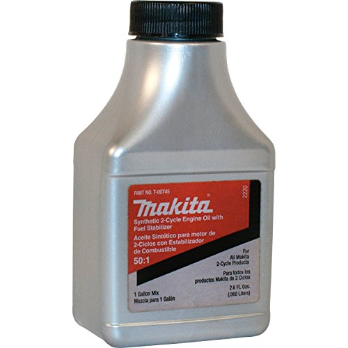 Makita T-00745 Synthetic 2-Cycle Fuel Mix, 2.6 oz.
