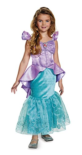 Ariel Prestige Disney Princess The Little Mermaid Costume, Small/4-6X
