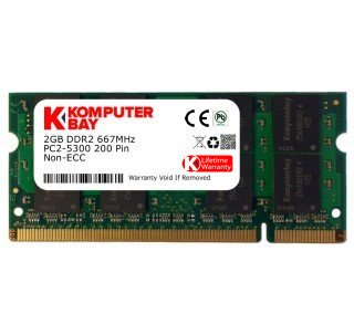 2 Gb pc2 5300 ddr2 667 Mhz Notebook Memory Module - 8
