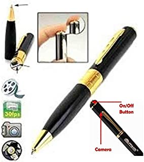 Global Craft Spy Hd Pen Camera with Voice-Video Recorder and Dvr-Hidden-Camcorder Model 96828
