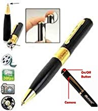 Global Craft Spy Hd Pen Camera with Voice-Video Recorder and Dvr-Hidden-Camcorder Model 145850