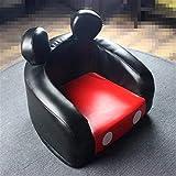 WYJW Kindersofa, PU-Leder-geformtes Sofa, platzsparendes Kindersitz-Einzelsitzsofa, perfekt für Kinderzimmer-Spielzimmer / 17 x 15 x 14,5 Zoll Fußstützenhocker, Wohnzimmer (Farbe: B)