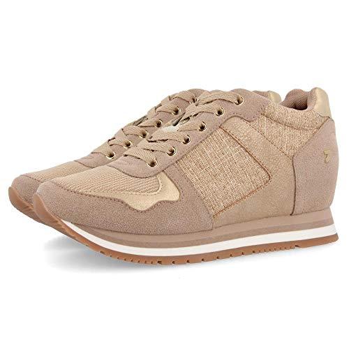 Gioseppo Nassau, Zapatillas para Mujer, Dorado (Oro Oro), 38 EU