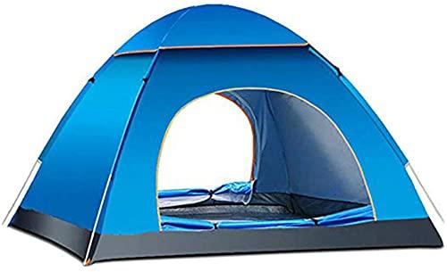 Carpa para acampar, Carpa para exteriores automática portátil para 2 personas, Refugios solares de apertura rápida Carpa emergente para sombra al aire libre Camping Deportes Senderismo Escalada V