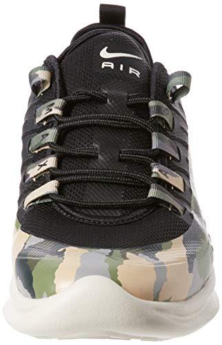 Nike Air MAX Axis Prem, Zapatillas de Running Hombre, Negro (Black/Black/Light Bone 001), 40.5 EU