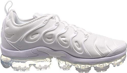 Nike Herren Air Vapormax Plus 924453-100 Fitnessschuhe, Weiß White White Pure Platinum 001, 44 EU