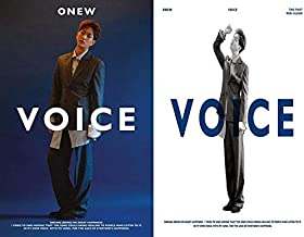 ONEW SHINee - The 1st Mini Album [VOICE] (White + Blue, all versions SET) Music 2CD + 2Photocards + 2Folded Posters + Booklet + Extra Photocards Set