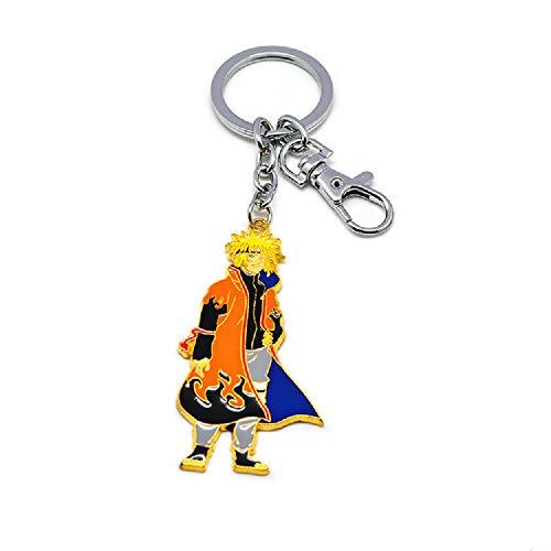 Llavero de Naruto Naruto Kakashi, llavero del hogar, colgante de mochila, colgante de dibujos animados, colgante de billetera