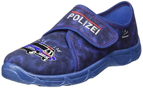 Beck Polizei, Zapatillas de Estar por casa para Niños, Azul (Dunkelblau 05), 30 EU