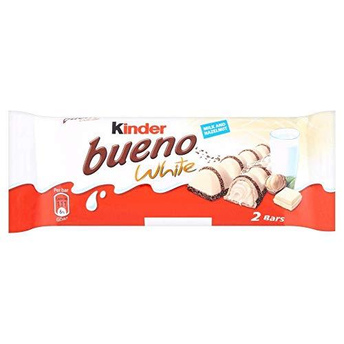 Kinder Bueno White - 39g - Pack of 3 (39g x 3 Bars)