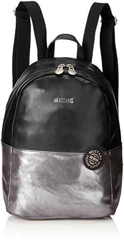 MUSTANG Damen Bennsville Joyce Backpack Mvz Rucksackhandtasche, Schwarz (Black), 15x32x24 cm