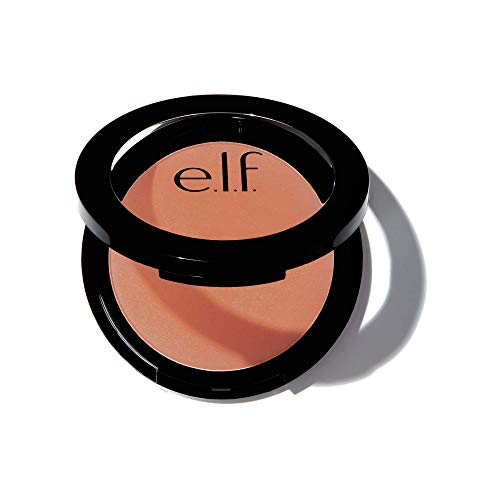 e.l.f, Primer-Infused Blush, Long-Wear, Matte, Bold, Lightweight, Blends Easily, Contours Cheeks, Always Rosy, All-Day Wear, 0.35 Oz