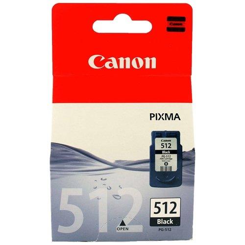 Canon PG - 512 Tintenpatrone, hohe Ergiebigkeit, Schwarz