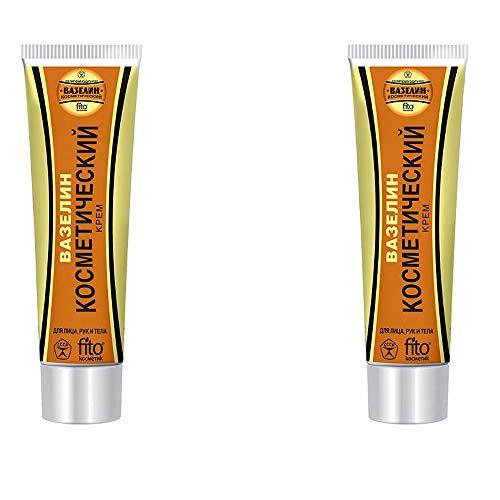 Fito Kosmetik Kosmetische Creme Vaseline 2er Pack (2x45ml) Hautpflege Körperpflege Hautcreme