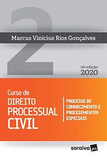 Curso de Direito Processual Civil - Vol. 2 - 16ª edição de 2020: Processo de Conhecimento e Procedimentos Especiais: Volume 2
