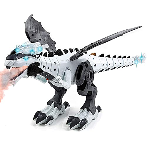 Toysery Mist Spray Dinosaur Robot Toy for Kids