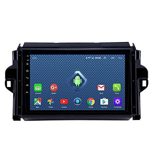 DGDD Android 10.0 Radio Stereo Coche Navegación GPS 9 Pulgadas 2.5D HD Pantalla Táctil Ser Aplicable para Toyota FORTUNER (2016-2018) Apoyo Manos Libres WiFi 4G FM Am Mirror Link SWC DSP 2G+32G