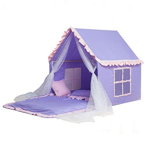 ANQIY Arts Play Tent, Go To Bed Reading Corner Game House Toy Storage Dream Starry Sky Castle Princess Room Children (Size : #2)