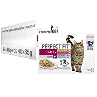 Complete wet cat food tailored for adult cat's needs: Made with quality proteins and rich nutrients to help keep body condition and weight management in check Perfect Fit supports your cat's natural defences with vitamin E, vitamin C and antioxidants...