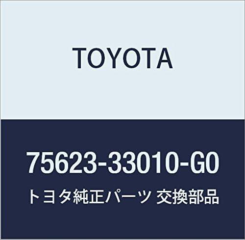 TOYOTA Mail order Genuine 75623-33010-G0 Molding Time sale Fender
