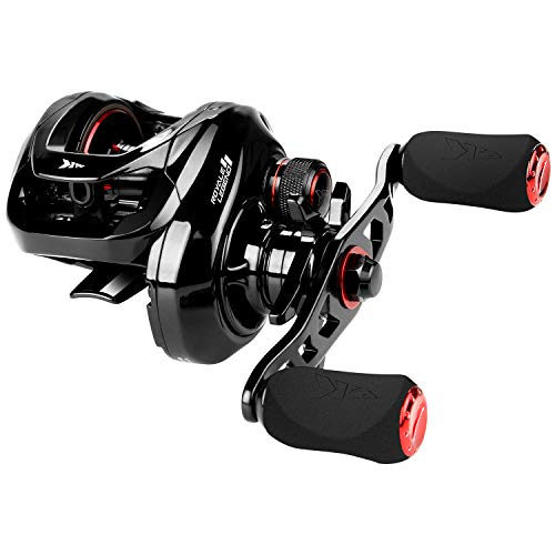 KastKing Royale Legend II Baitcasting Reels, Gear Ratio 5.4:1, Left Handed Fishing Reel