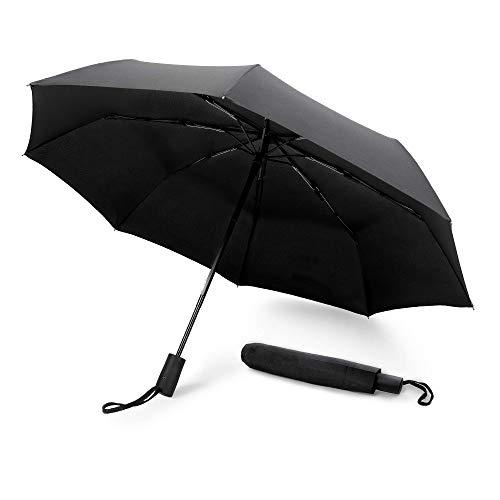 GadHome - Paraguas Automático Negro | Paraguas Viaje