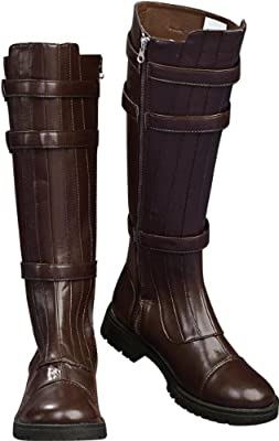 Rubie's Men's Star Wars Anakin Skywalker Costume Boots, Brown, Medium by Rubies Costumes - Apparel