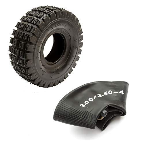 Pneumatico per mini moto Quad + camera d'aria 3.00-4 o 300-4 o 9x3.5-4 o 3.5-4 Minimoto ruota anteriore posteriore 10,2 cm 4 pollici