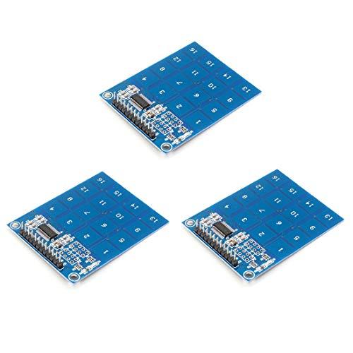 TTP229 16 Kanal 4 x 4 Matrix Array 16 Tasten Digital kapazitiv Touch Switch Modul