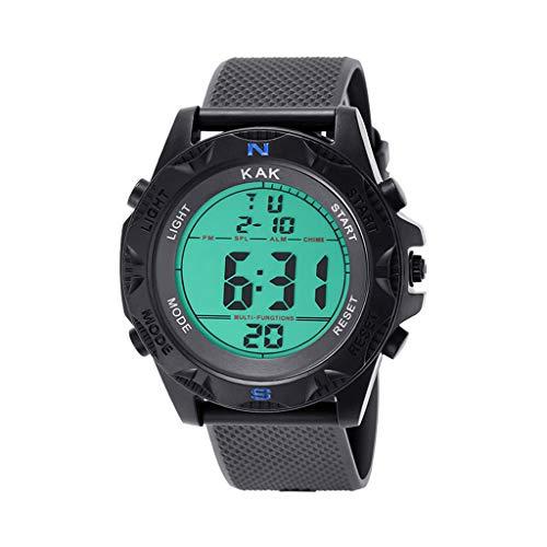 KEERADS - Reloj de Moda de Alta Gama para Hombre, 30 m, diseo de Relojes electrnicos Impermeables