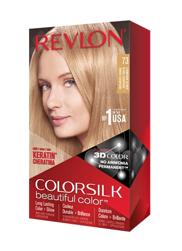 revlon champagnes Revlon ColorSilk Haircolor, Champagne Blonde, 10 Ounces (Pack of 3)