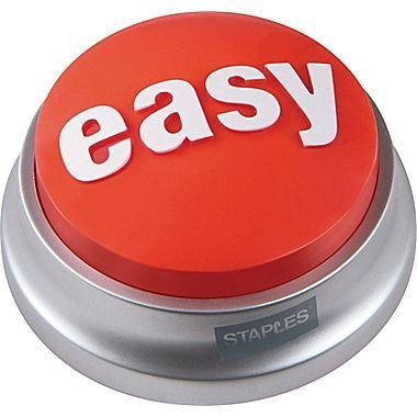 Staples Easy Button by Staples