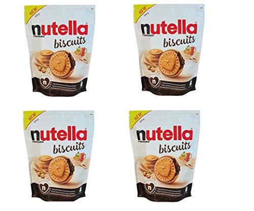 4 NUTELLA BISCUITS DA 304 GR - UN CUORE GRANDE IL BISCOTTO COL CUORE DI NUTELLA