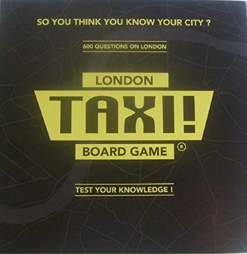 London Taxi Board Game. A Box Full of Fun and Knowledge by Taxi Board Game