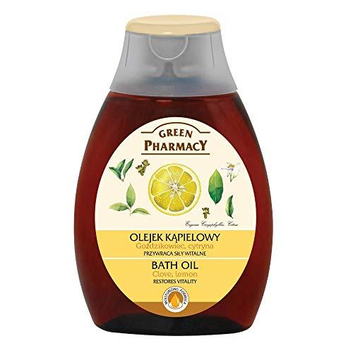 Green Pharmacy BATH OIL - Clove & Lemon Herbal Care 250ml