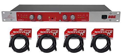 BBE 882I Pro Rack Mount Studio Sonic Maximizer Signal Sound Processor+XLR Cables