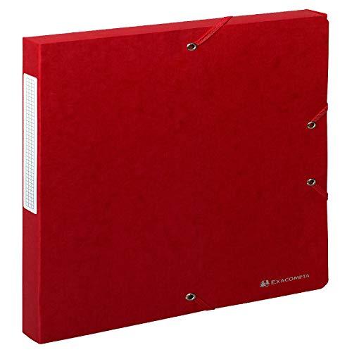 Exacompta 50705E - Carpeta de proyecto con goma, color rojo