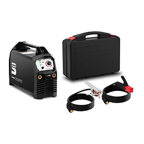 Stamos Power2 Soldador MMA Equipo Para Soldar S-ARC 200PFC (MMA/TIG Liftarc, 200 A, Apto para generador eléctrico, IGBT)