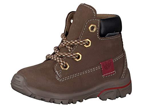 RICOSTA Pepino Jungen Winterstiefel Dean, WMS: Weit, wasserfest, toben Spielen Freizeit leger Winter-Boots gefüttert warm,Hazel,24 EU / 7 UK