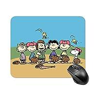 スヌーピー マウスパッド 小型 ラバー 便利 防水 耐久性 DANESI 滑り止め オフィス/ゲーム用 おしゃれ 可愛い キャラクター