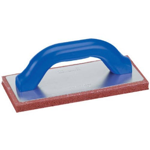MARSHALLTOWN The Premier Line 39 9-Inch by 4-Inch Coarse Pad Red Rubber Float