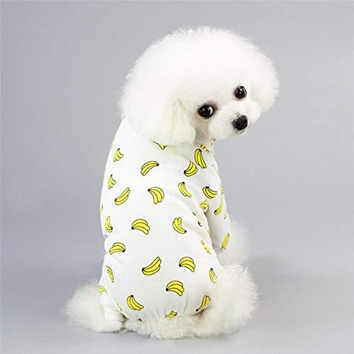 GOUSHENG hondenkostuums hondenkleding schattig voor kleine honden Chihuahua Yorgrind hondenkleding Pug kleding voor lente honden jas voor puppy's huisdieren kleding, M, 4