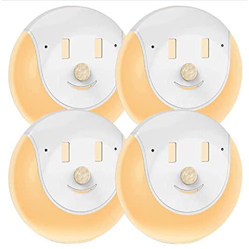 CareMont Luci Notturne un LED Sensore di Movimento Intelligente Lampade Notturne Decorazioni per La Camera da Letto Rivelatore di Luce Lampada Decorativa da Parete Armadio