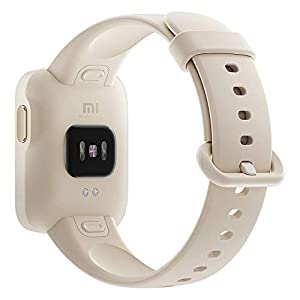 Xiaomi Mi Watch Lite - Reloj inteligente , GPS, control frecuencia cardíaca, 11 modelos de entrenamiento, color blanco