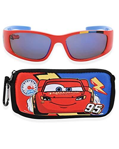Disney Gafas de sol para niños con funda de transporte y protección UV a juego