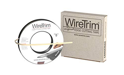 WireTrim, FiberLine (Fiber), Edge Cutting Tape, 1/4-Inch X 100 Feet, 1 Roll, 883662001239