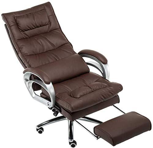 Fåtölj Möbler Executive Recline Extra vadderad kontorsstol Fotstöd Datorspel Massagestol Pallstol (stol)