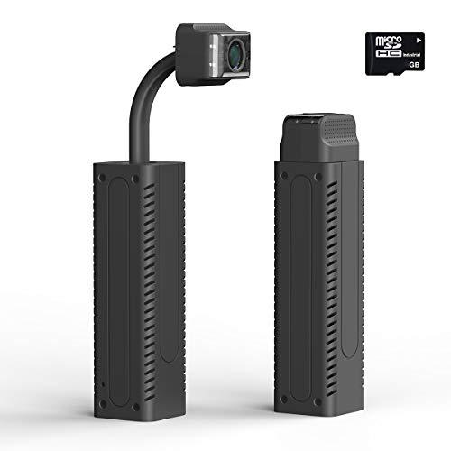 Mini cámara Wifi 1080P, cámara de seguridad con visión nocturna, almacenamiento en la nube, grabación automática de vídeo, con tarjeta de memoria 64G cámara inalámbrica