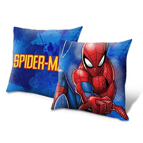 Spiderman Cojin 40x40cm, Multicolor, Única